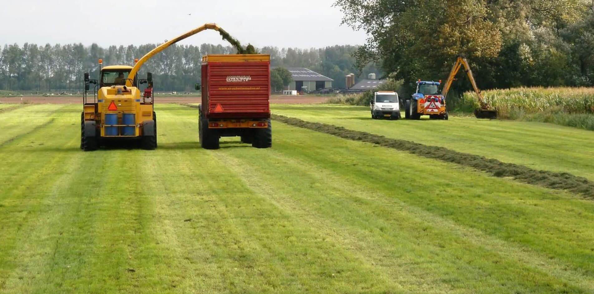 agrarische werkzaamheden Dekkers Maasbommel